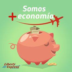 Ahorra en tus envíos con Liberty Express. Somos más economía.
