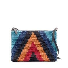 MULTICOLOR WOVEN CLUTCH $19.99 from Zara