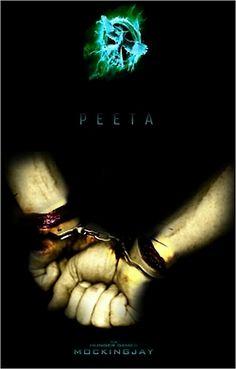 Peeta Mellark  Mockingjay-So sad!!Look at the blood!Im crying seriously! D: D: *Cries*