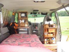 van interior 2006