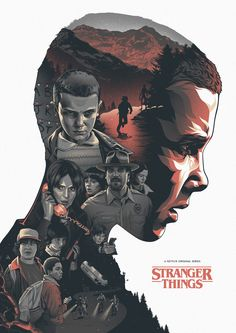 Stranger Things by Amien Juugo - Home of the Alternative Movie Poster -AMP-