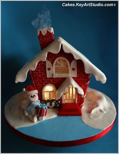 Holiday Love gingerbread house, via Flickr.