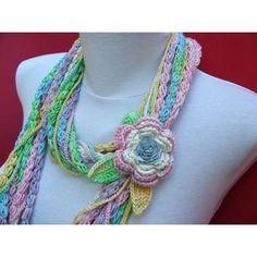 NexStitch™ Free Crochet Patterns : Free Sultry Crochet Scarf Pattern