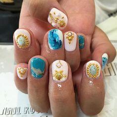 Keep your nails shinning. Snowflake Nail Art, Snowflakes, You Nailed It, Moon, Beauty, The Moon, Snow Flakes, Beauty Illustration