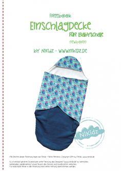 Einschlagdecke für Babyschale von NiKidz Free downloads!