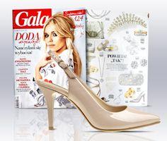 Ślub to z pewnością jeden z najpiękniejszych i najważniejszych wydarzeń w życiu! Styliści majowego wydania dwutygodnika GALA proponują szpilki Wojas w kolorze nude (4422/34) - idealny dodatek do wymarzonej sukni ślubnej.