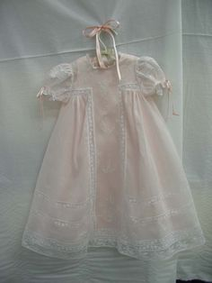"Ms. Dot's Pink ""Angel"" Baby Gown (Old Fash. Baby)"