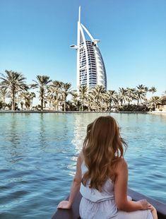 Madinat Jumeirah, Burj Al Arab, Abra boat