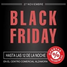 """ARAMULTIMÈDIA - El """"Black Friday"""" del CC Alzamora es prolongarà fins a les 12 de la nit. #blackfriday"""