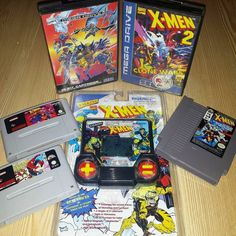 On instagram by johntmanic #arcade #microhobbit (o) http://ift.tt/1R68ugr's #RcEA2Z is 'X' and can only be for one thing... X-Men. I think I'm missing the Master System version but no rush for that! They're all generally not too bad games except Spiderman and X-Men! Man that's a hard game! #nes #nintendo #retro #retrogamer #retrogaming #retrocollect #retrocollective #gamer #games #videogames #nerd #geek  #coinup #retrocollectiveeurope #famicom #80s #90s #rceurope #nintendouk #snes…