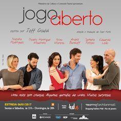 Agenda Cultural RJ: JOGO ABERTO, COMÉDIA SOBRE RELACIONAMENTOS, ESTREI...