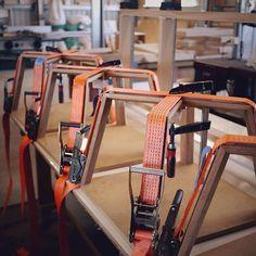 A new workshop standard for Ratchet clamps. #clamps #wontonrange #furnituremakers #australiandesign