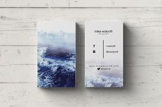 Vertical Photographer Business Card by Design Dock on @creativemarket