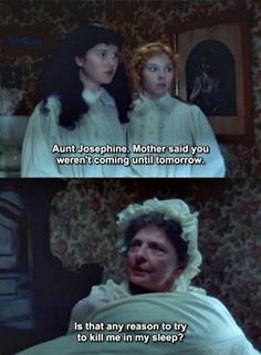 Anne of Green Gables (1985) HANDS down, best quote of this movie!! :D