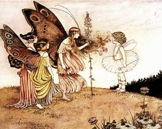 Travellers by Ida Rentoul Outhwaite