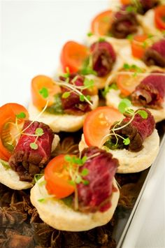 The George - Canapes