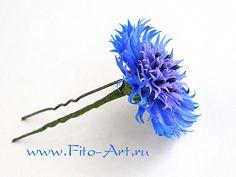 Цветы ручной работы - Василечек