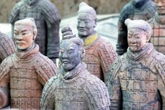 Terracotta Warriors, Xian, #China #unique #places