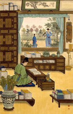 traditional Korean room
