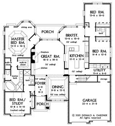 House Plans With Gourmet KitchensGourmet kitchen welcomes chefs  hwbdo     new american house plan from builderhouseplans com