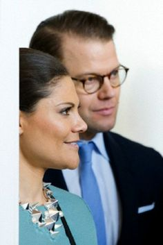 Crown Princess Victoria and Prince Daniel of Sweden visit the Red Dot Design Museum in Essen, Germany, 29.01.14.