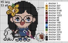 Cross Stitch, Family Guy, Kids, Fictional Characters, Art, Toddler Chart, Baby Dolls, Girls, Dibujo