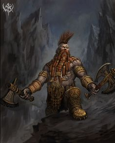 dwarf barbarian | by twen5