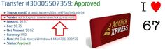 Look at these new amazing withdrawal daily proofs from Adclickxpress. Work from home 15 minutes a day, make money and cover your low salary or make it full-time job income. NO SCAM with ACX! You can be successful online as well! Start here:  http://bit.ly/1JxIgQY