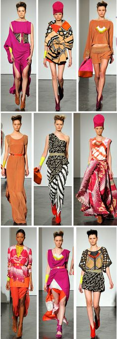 I love all of these colors/patterns/dresses