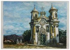 Igreja São Francisco de Assis  Ouro Preto - Minas Gerais