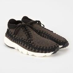 free shipping 2fe14 d6324 Air Footscape Woven Chukka SE Shoe - Black Black Ivory