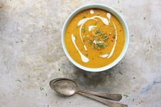 ... beet soup with roasted garlic cashew cream golden beet soup with