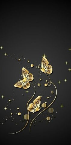 Nice Arranged for iPhone X, Beautiful Wallpapers, Background Gold Wallpaper Hd, Blue Butterfly Wallpaper, Iphone 6 Plus Wallpaper, Butterfly Painting, Heart Wallpaper, Butterfly Art, Cellphone Wallpaper, Wallpaper Backgrounds, Iphone Pics