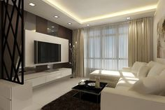 Stupefying Cool Tips: False Ceiling Bedroom Classic false ceiling islands.False Ceiling Gypsum Types Of false ceiling living room. False Ceiling Living Room, Ceiling Design Living Room, False Ceiling Design, Interior Design Living Room, Living Room Designs, Gypsum Ceiling Design, Diy 2019, Living Tv, Living Rooms