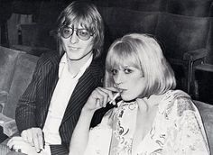 Here are some pictures of Marianne worse for wear and tear, when her relationship with Mick had crumbled and she began the dark days of the ...