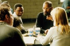 The Hurricane (1999) with Denzel Washington and Vicellous Reon Shannon is a hard movie about wrongful imprisonment and life being unfair. But it is exceptional, as most of Denzel Washington's movies are. I totally enjoy it each time I see it.