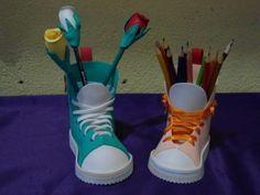 porta-lápis de eva criativo