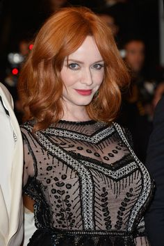 Christina Hendricks is the most stunning redhead!