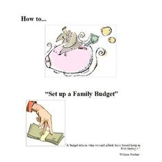 How to Set up a FAMILY Budget? (Kindle Edition)  http://flavoredwaterrecipes.com/amazonimage.php?p=B004Q3RICK  B004Q3RICK