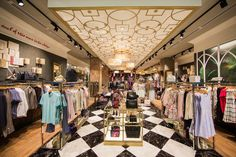 Ted Baker launched his first store in South Africa within Sandton City, Johannesburg. The 1960 square foot retail space will house Ted'. Baker Store, Retail Space, Store Design, South Africa, Ted Baker, Swag, Home, Ad Home, Homes