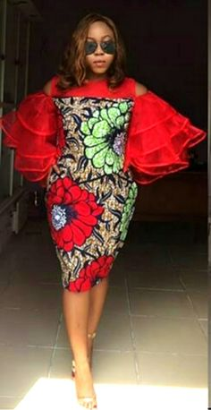 African Lace Styles, Short African Dresses, African Print Dresses, Ankara Dress Styles, African Fashion Ankara, Latest African Fashion Dresses, African Print Fashion, African Attire, African Hair