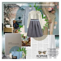 """""""Romwe"""" by oxbabydollxo ❤ liked on Polyvore featuring Reformation, Zara, Chicwish, Carven, Gianvito Rossi, MICHAEL Michael Kors, Maybelline, Marc Jacobs, Fendi and women's clothing"""