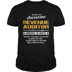 REVENUE AUDITOR T-Shirts, Hoodies. Check Price Now ==► https://www.sunfrog.com/LifeStyle/REVENUE-AUDITOR-131745876-Black-Guys.html?41382