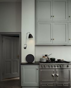 Farrow and Ball Lamproom Gray - 12 Farrow and Ball Kitchen Cabinet Colors - For the perfect English Kitchen