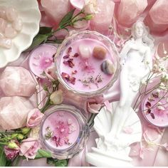 Witch Aesthetic, Pink Aesthetic, Magick, Witchcraft, Aphrodite Aesthetic, Goddess Of Love, Rose Quartz Crystal, Greek Gods, Gods And Goddesses