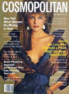 Paulina Porizkova on the Cover of Cosmopolitan