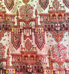 A Library of Design: News on the Duchess of Devonshire, Pierre Frey and Belmont House Textile Patterns, Textile Prints, Belmont House, The Duchess Of Devonshire, Pierre Frey Fabric, Antique Wallpaper, Indian Flowers, African Textiles, Le Palais