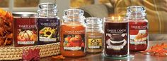 Yankee Candle - autumn fragrances are in stores now!