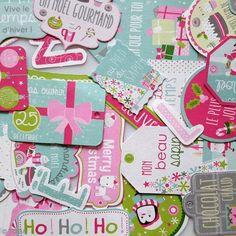 Die cuts Banderines de  Navidad - Multicolor - 34 pcs - Fotografía n°2