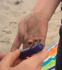 Riding the wave of type 1 diabetes at the beach. From pump to shots...